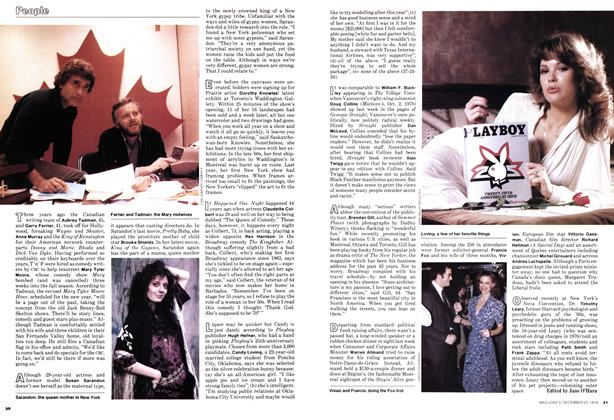 Article Preview: People, December 1978 | Maclean's