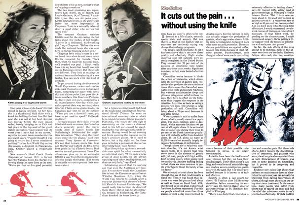 Article Preview: It cuts out the pain... without using the knife, December 1978 | Maclean's