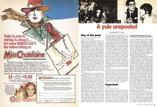 Article Preview: A yule unspooled, December 1978 | Maclean's