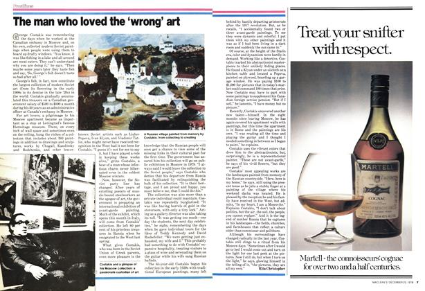 Article Preview: The man who loved the 'wrong' art, December 1978 | Maclean's