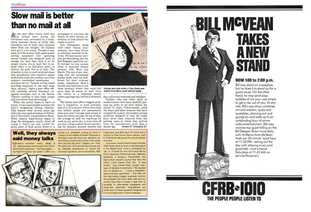 Article Preview: Slow mail is better than no mail at all, December 1978 | Maclean's