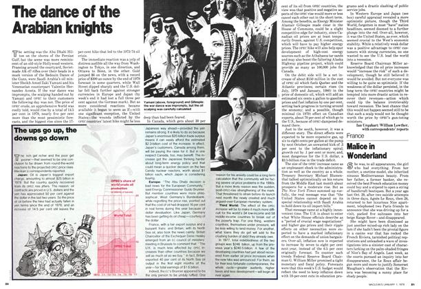 Article Preview: The dance of the Arabian knights, January 1979 | Maclean's