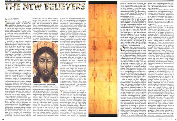 Article Preview: THE NEW BELIEVERS, January 1979 | Maclean's