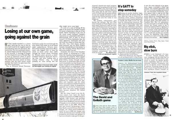 Article Preview: Big stick, slow burn, January 1979 | Maclean's