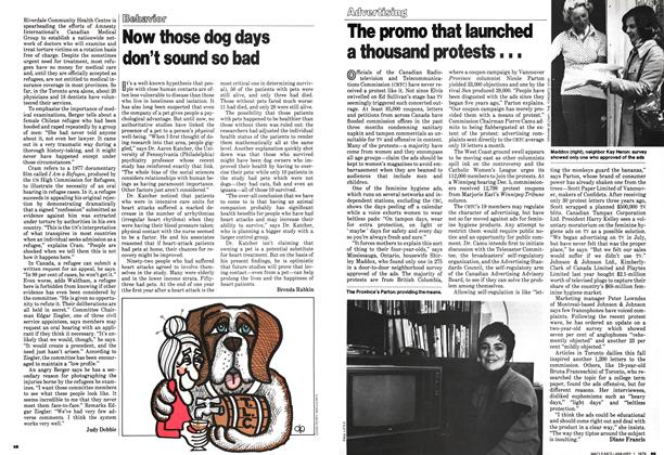 Article Preview: The promo that launched a thousand protests..., January 1979 | Maclean's