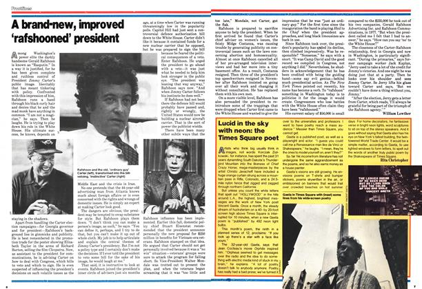 Article Preview: A brand-new, improved 'rafshooned' president, January 1979 | Maclean's