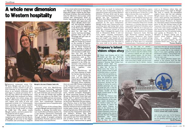 Article Preview: Drapeau's latest vision: chips ahoy, January 1979 | Maclean's