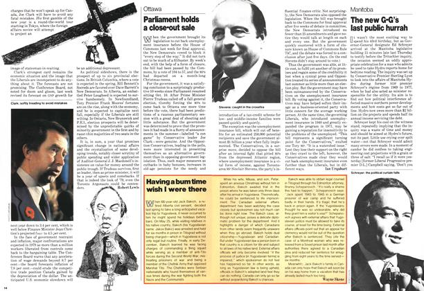 Article Preview: Parliament holds a close-out sale, January 1979 | Maclean's