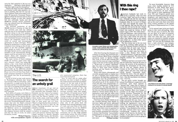 Article Preview: The search for an unholy grail, January 1979 | Maclean's