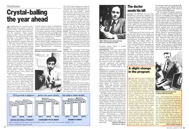 Article Preview: The doctor sends his bill, January 1979 | Maclean's