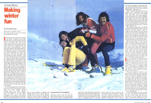 Article Preview: Making winter fun, January 1979 | Maclean's