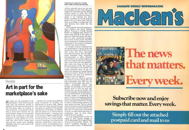 Article Preview: Art in part for the marketplace's sake, January 1979 | Maclean's