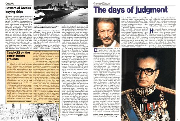 Article Preview: The days of judgment, ANUARY 15, 1979 1979 | Maclean's