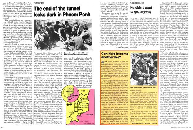 Article Preview: The end of the tunnel looks dark in Phnom Penh, ANUARY 15, 1979 1979 | Maclean's