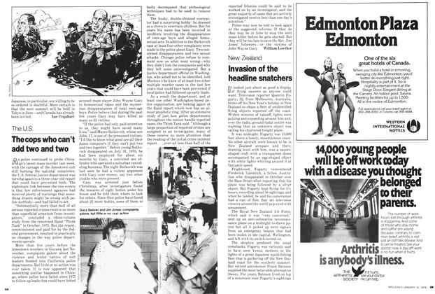 Article Preview: The cops who can't add two and two, ANUARY 15, 1979 1979 | Maclean's