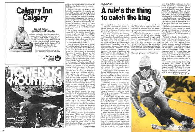 Article Preview: A rule's the thing to catch the king, ANUARY 15, 1979 1979 | Maclean's