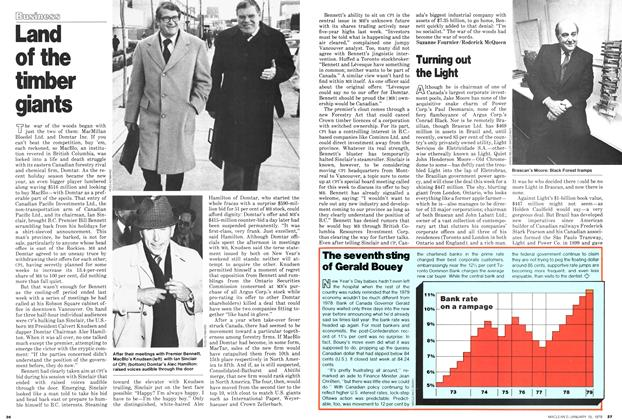 Article Preview: Turning out the Light, ANUARY 15, 1979 1979 | Maclean's