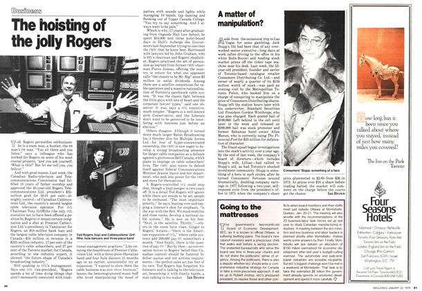 Article Preview: The hoisting of the jolly Rogers, January 1979 | Maclean's