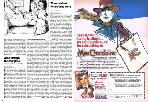 Article Preview: Alice through the hourglass, January 1979 | Maclean's