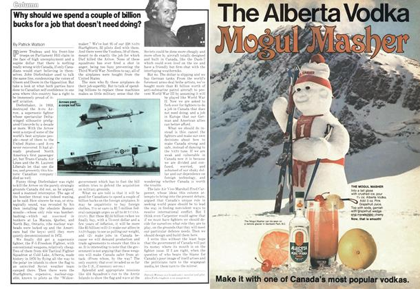 Article Preview: Why should we spend a couple of billion bucks for a job that doesn't need doing?, January 1979 | Maclean's