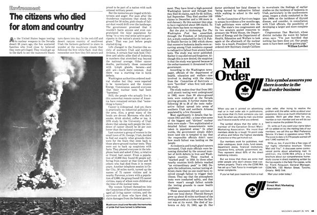 Article Preview: The citizens who died for atom and country, January 1979 | Maclean's