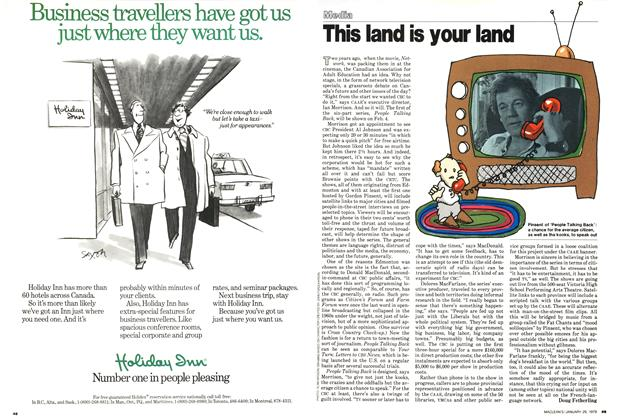 Article Preview: This land is your land, January 1979 | Maclean's