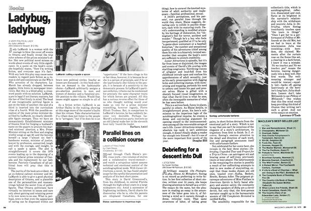 Article Preview: Ladybug, ladybug, January 1979 | Maclean's