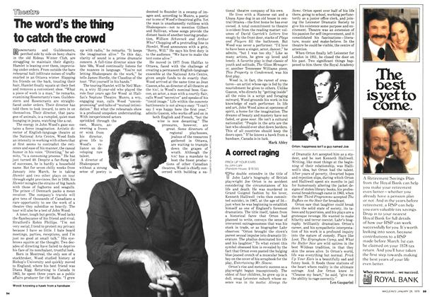 Article Preview: The word's the thing to catch the crowd, January 1979 | Maclean's