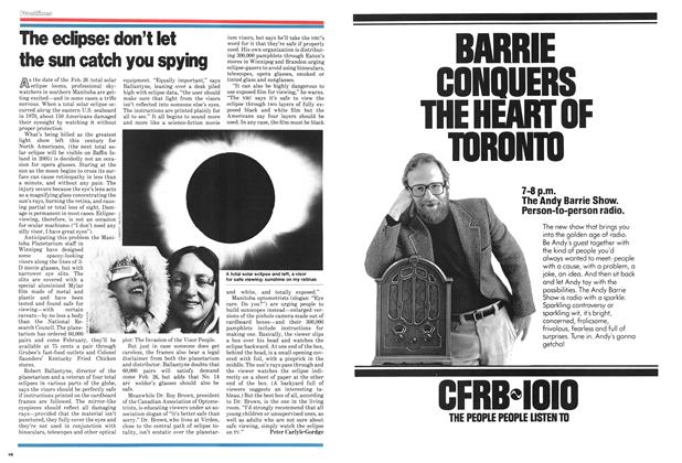 Article Preview: The eclipse: don't let the sun catch you spying, January 1979 | Maclean's