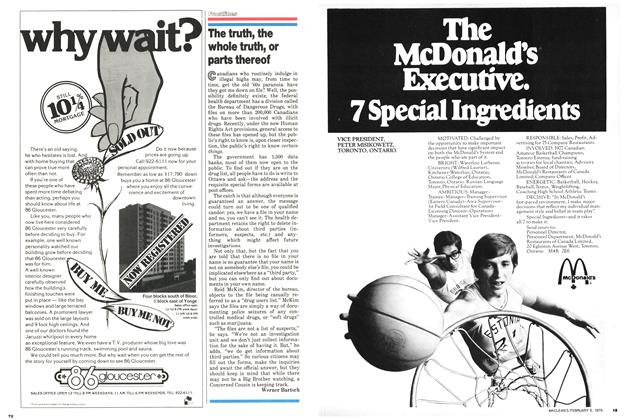 Article Preview: The truth, the whole truth, or parts thereof, February 1979 | Maclean's