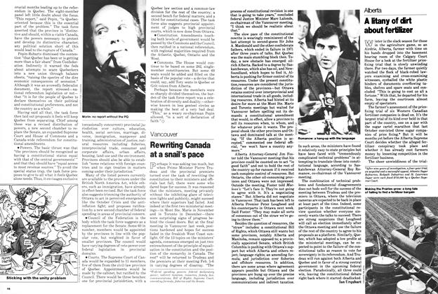 Article Preview: A litany of dirt about fertilizer, February 1979 | Maclean's