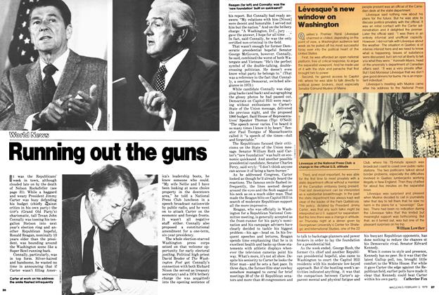 Article Preview: Lévesque's new window on Washington, February 1979 | Maclean's