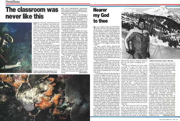 Article Preview: Nearer my God to thee, February 1979 | Maclean's