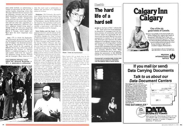 Article Preview: The hard life of a hard sell, February 1979 | Maclean's