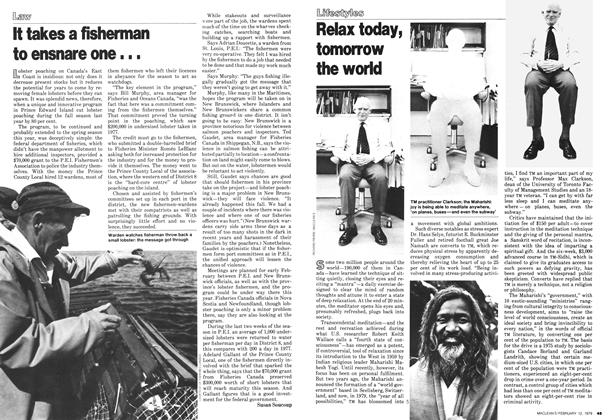 Article Preview: Relax today, tomorrow the world, February 1979 | Maclean's