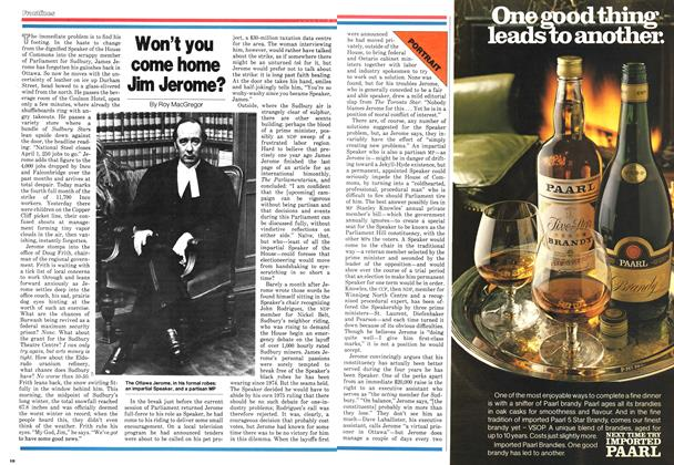 Article Preview: Won't you come home Jim Jerome?, February 1979 | Maclean's
