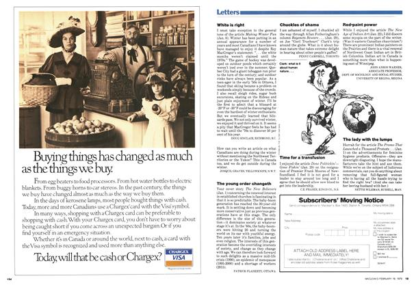 Article Preview: Letters, February 1979 | Maclean's