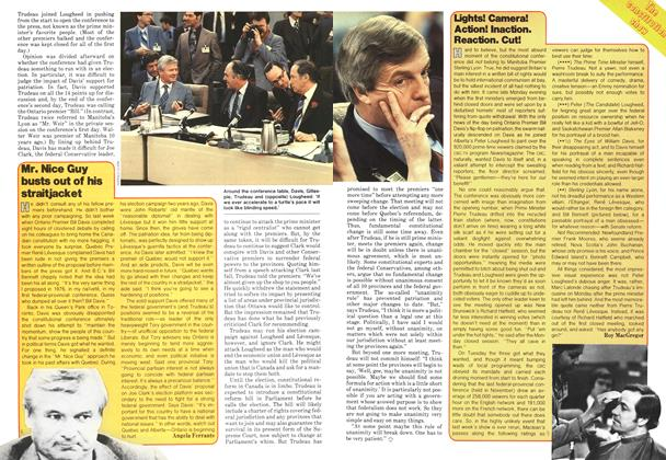 Article Preview: Lights! Camera! Action! Inaction. Reaction. Cut!, February 1979 | Maclean's