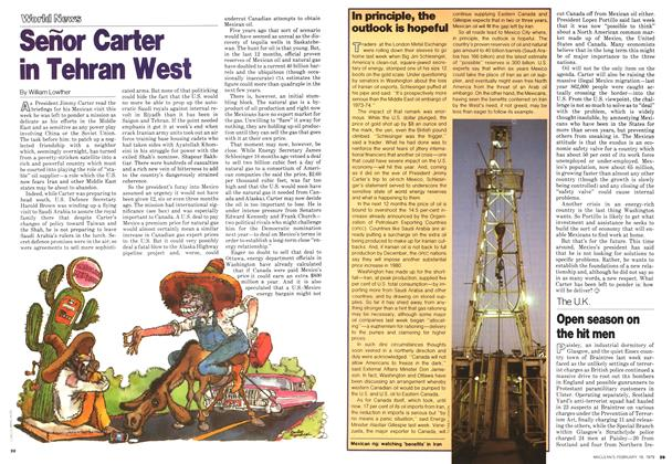 Article Preview: Señor Carter in Tehran West, February 1979 | Maclean's
