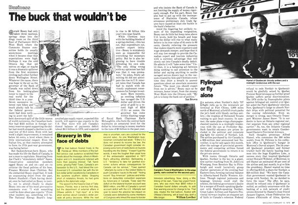 Article Preview: Flylingual or fly alone, February 1979 | Maclean's