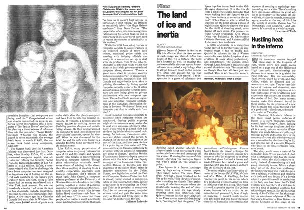 Article Preview: Hustling heat in the inferno, February 1979 | Maclean's