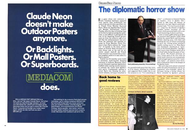 Article Preview: The diplomatic horror show, February 1979 | Maclean's