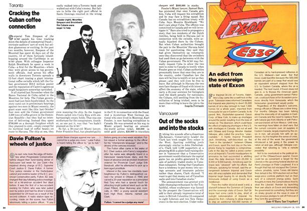 Article Preview: Cracking the Cuban coffee connection, February 1979 | Maclean's