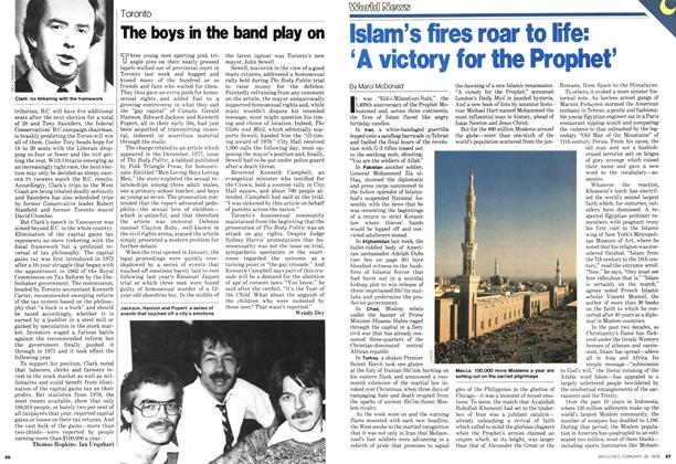 Article Preview: Islam's fires roar to life: 'A victory for the Prophet', February 1979 | Maclean's