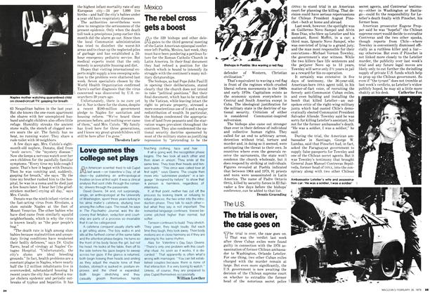 Article Preview: Love games the college set plays, February 1979 | Maclean's