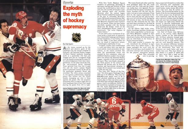 Article Preview: Exploding the myth of hockey supremacy, February 1979 | Maclean's