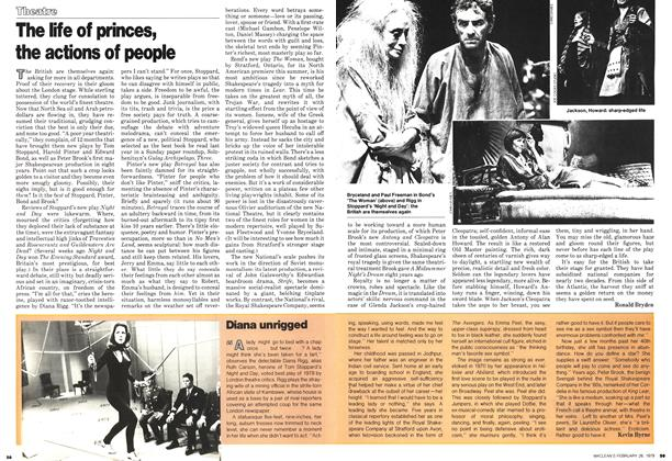 Article Preview: The life of princes, the actions of people, February 1979 | Maclean's
