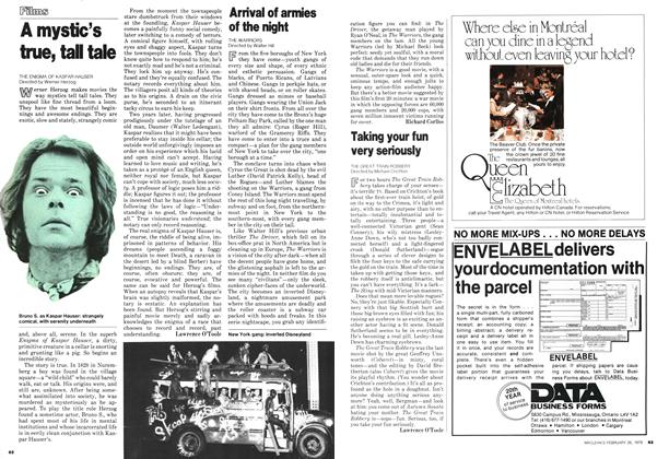 Article Preview: A mystic's true, tal tale, February 1979 | Maclean's