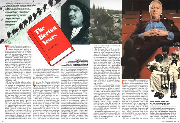 Article Preview: The Berton Years, March 1979 | Maclean's