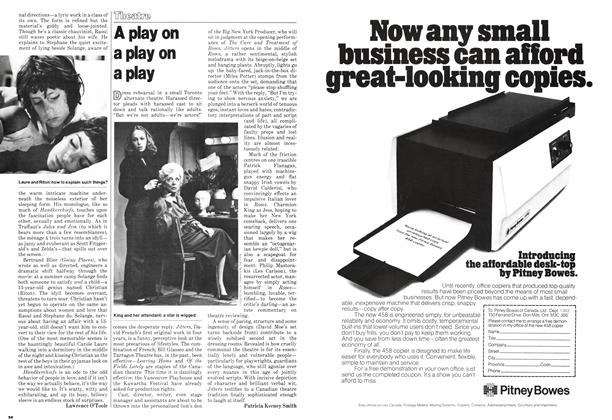 Article Preview: A play on a play on a play, March 1979 | Maclean's